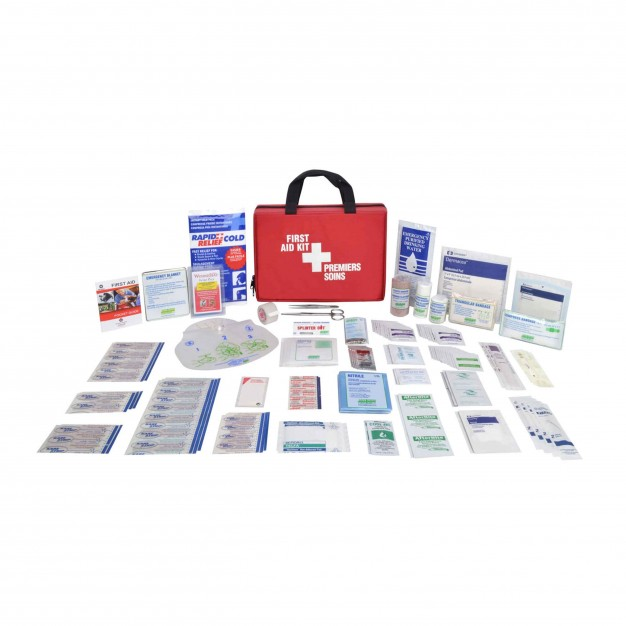 General Purpose First Aid Kit - Nylon Soft Pack