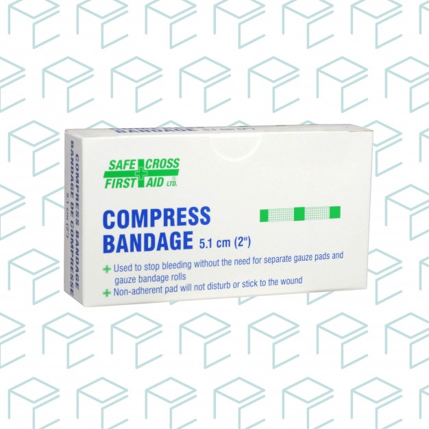 "Compress Bandage 2"" x 2"" - 4pk"