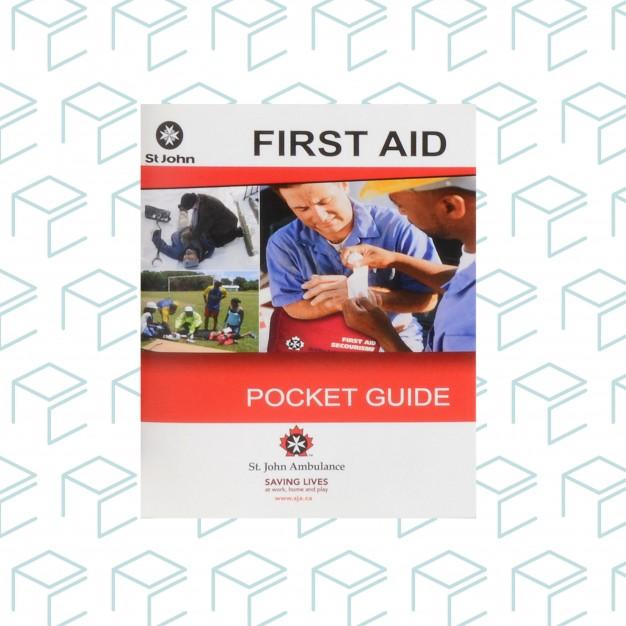 Bilingual St.John Ambulance Pocket Guide