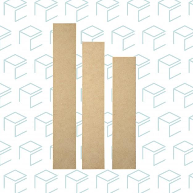 Assorted Wood Splint Set - 6pk
