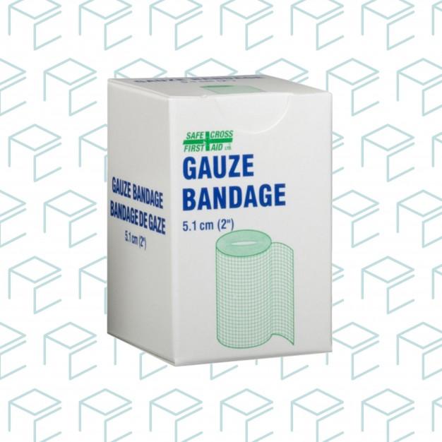"""Gauze Bandage Roll 2"""" x 10yards, 1pk"""