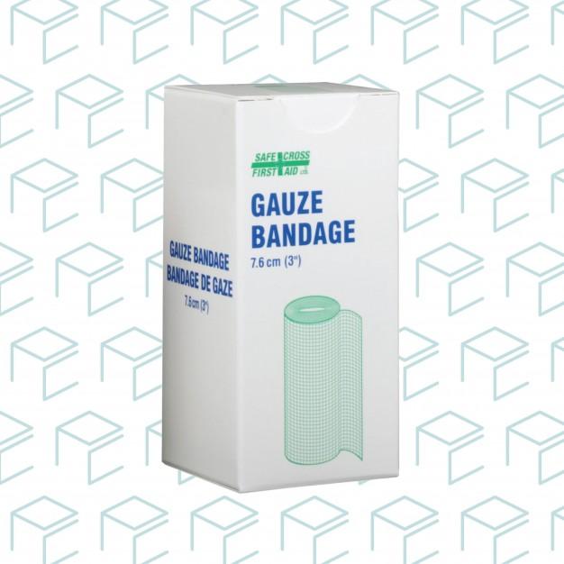 """Gauze Bandage Roll 3"""" x 10yards, 1pk"""
