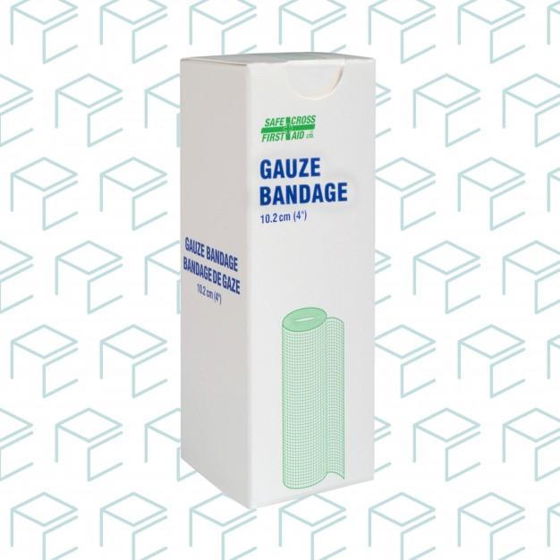 """Gauze Bandage Roll 4"""" x 10yards, 1pk"""