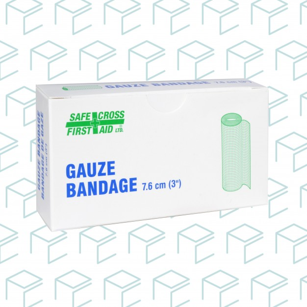 "Gauze Bandage Roll 3"" x 5yards, 2pk"