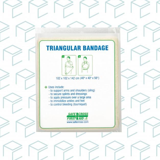 Non-Compressed Triangular Bandage, Bulk - 1pk