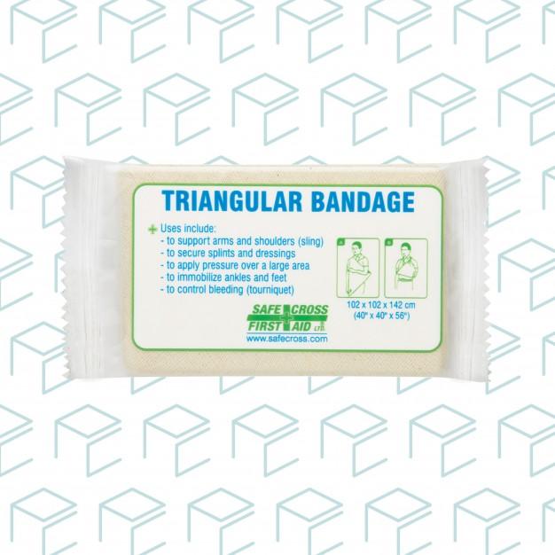 Compressed Triangular Bandage, Bulk - 1pk
