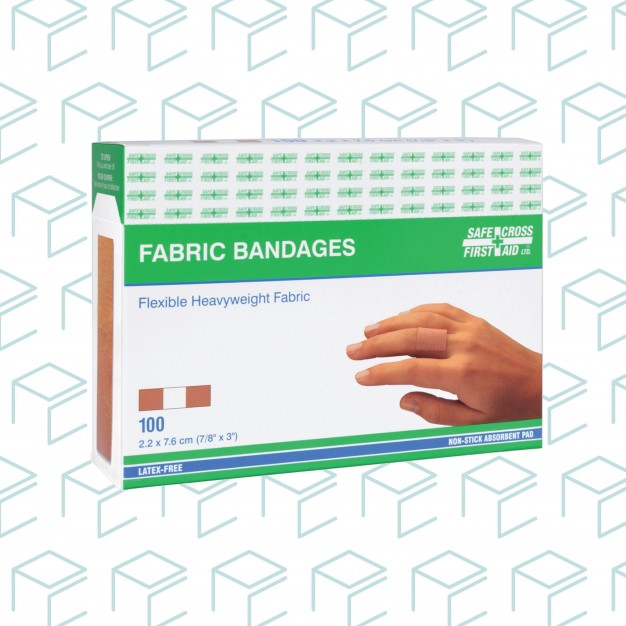 Lightweight Fabric Bandages - 100pk