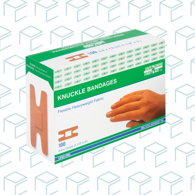 Fabric Knuckle Bandages - 100pk