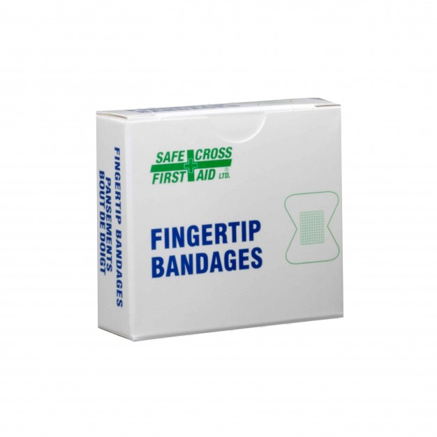 Small Fabric Fingertip Bandages - 12pk