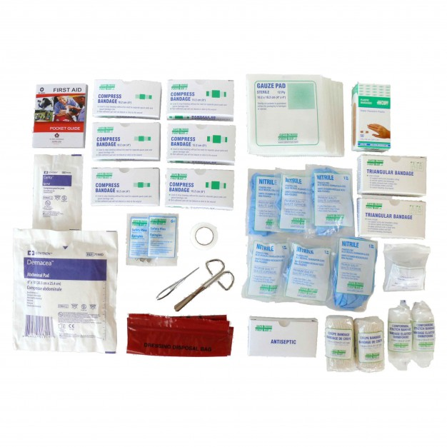 St. John Ambulance First Aid Kit, Alberta, Refill