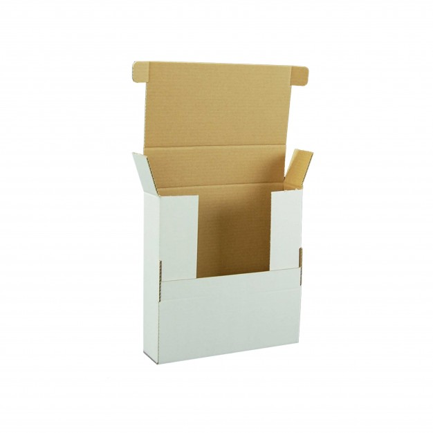 "E-Commerce Box - Double Locking - 12"" X 12"" X 3"""