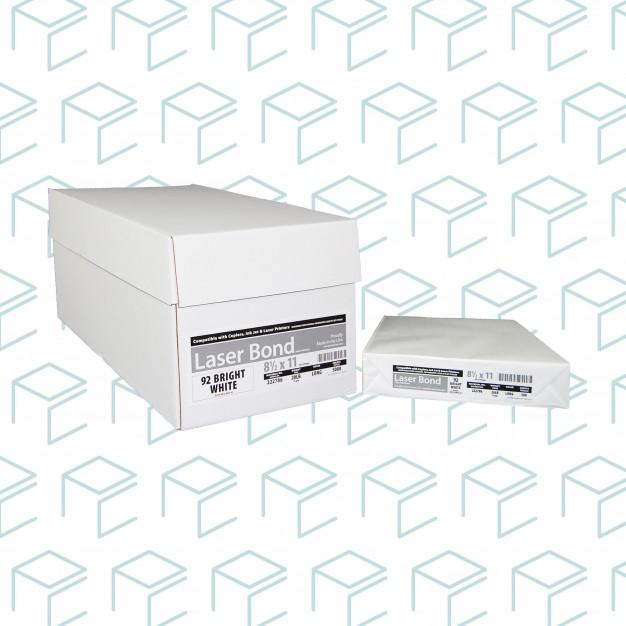 """Copy Paper, 8-1/2"""" X 11"""" - 5000 Sheets/Case"""