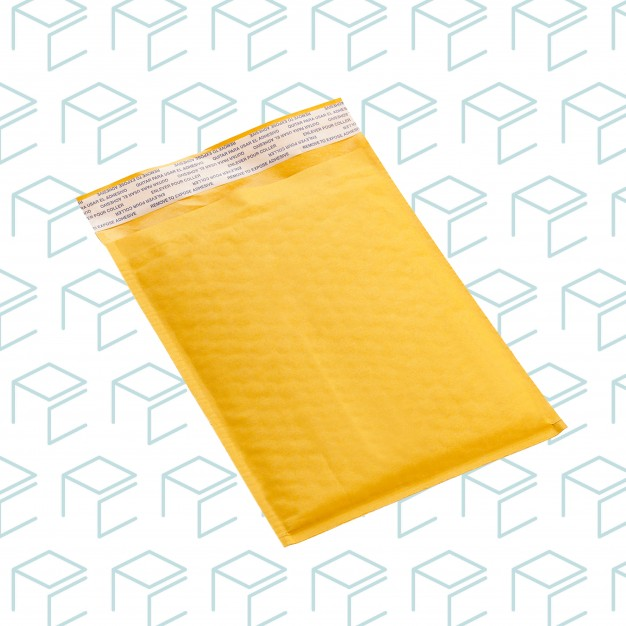 """ECOLITE® #000 Bubble Mailer - 4"""" X 8"""" - Pack of 25"""