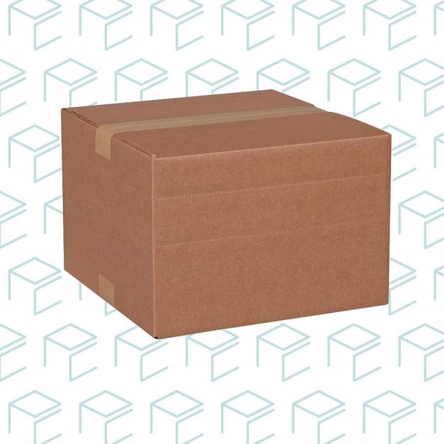 """Multi-depth Kraft Boxes - 12"""" X 12"""" X 18"""""""