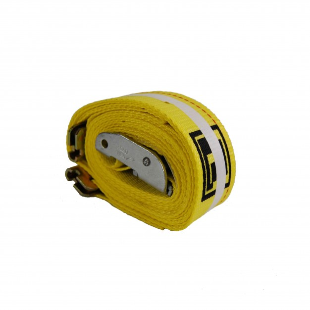Spring Loaded E-fitting Cam Buckle Strap - 12