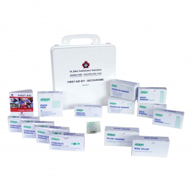 St. John Ambulance First Aid Kit, Ontario, Medium