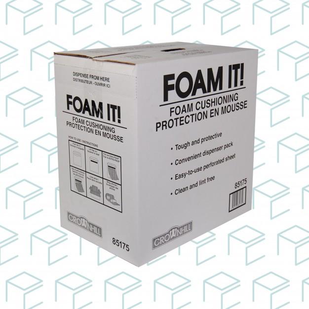 "Foam Dispenser Box, 12"" X 175' - 1/8"" thick"