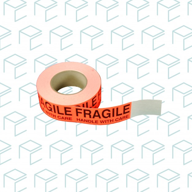 """Fragile/Handle With Care' Label - 2"""" x 5"""""""