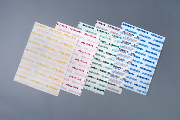 """Dry Waxed Food Sheets, Blue Delicious, 12 x 9"""""""
