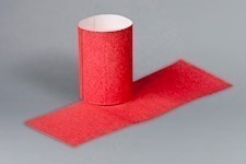 Red Paper Napkin Rings, 4 1/4 x 1 1/2""