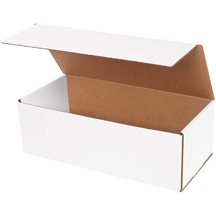"""Indestructo Mailers, White, 15 x 7 x 5"""""""