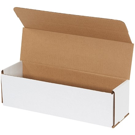 """Indestructo Mailers, White, 14 x 4 x 4"""""""