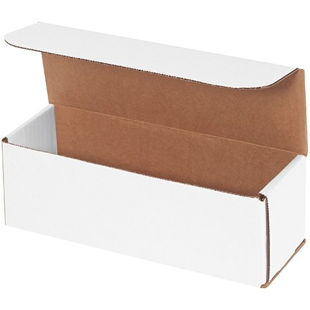 """Indestructo Mailers, White, 9 x 3 x 3"""""""