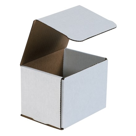 """Indestructo Mailers, White, 5 x 4 x 4"""""""