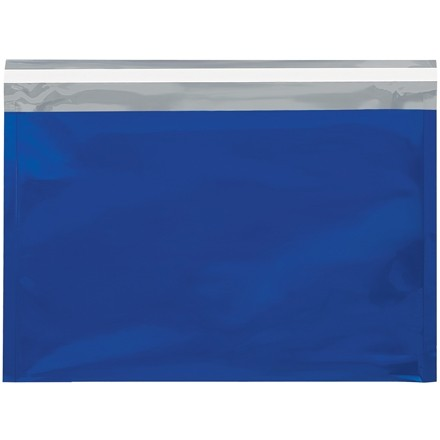 "Glamour Mailers, Flat, Metallic Blue, 9 1/2 x 12 3/4"""