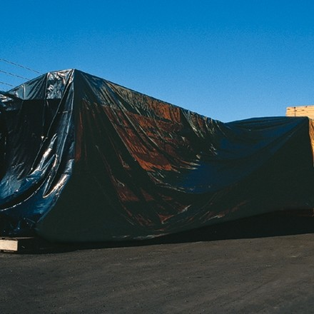 Black Poly Sheeting, 20 x 100', 6 Mil