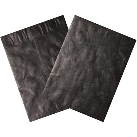 "Tyvek® Envelopes, Black, 9 x 12"""