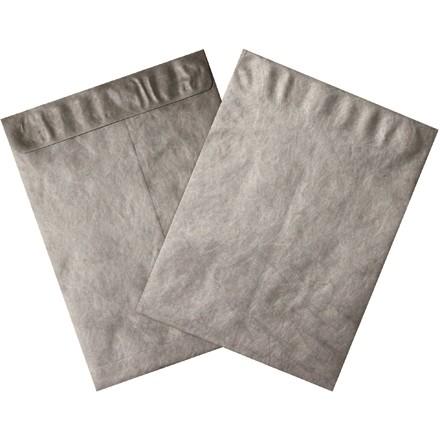 "Tyvek® Envelopes, Silver, 12 x 15 1/2"""