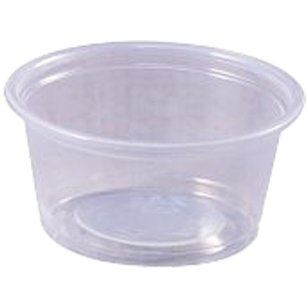 Plastic Portion Cups, 2 oz.