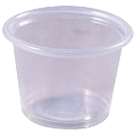 Plastic Portion Cups, 1 oz.