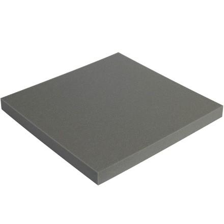 "Charcoal Soft Foam Sheets - 2"" Thick, 12 x 12"""