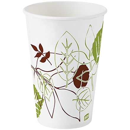 Dixie® Paper Cold Cups, Poly Coated, 16 oz.