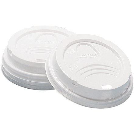 Dixie® Perfect Touch Cup Lids, 8 oz.