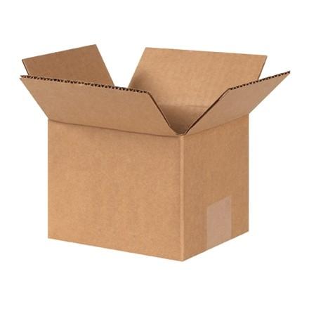 "Corrugated Boxes, 7 x 6 x 5"", Kraft"