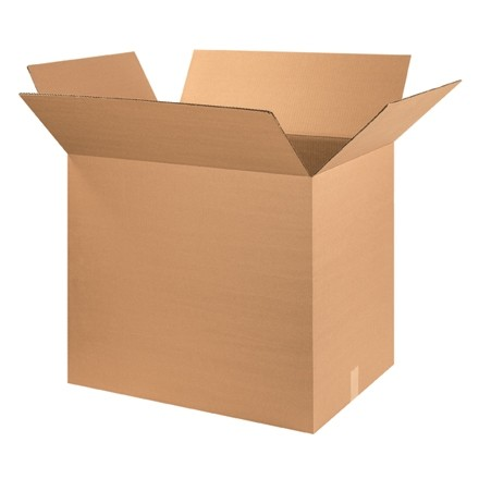 "Corrugated Boxes, 24 x 18 x 36"", Kraft"