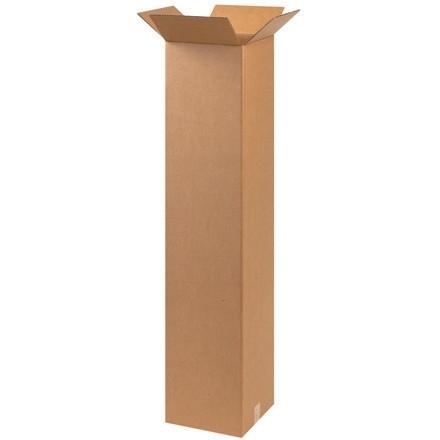 "Corrugated Boxes, 9 x 9 x 48"", Kraft"