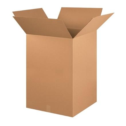 "Corrugated Boxes, 22 x 22 x 30"", Kraft"