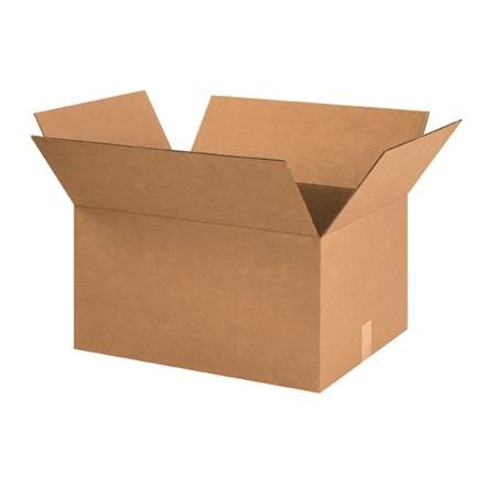 "Corrugated Boxes, 23 x 17 x 12"", Kraft"