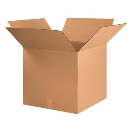 "Corrugated Boxes, 22 x 22 x 20"", Kraft"