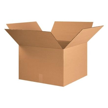 "Corrugated Boxes, 22 x 20 x 14"", Kraft"
