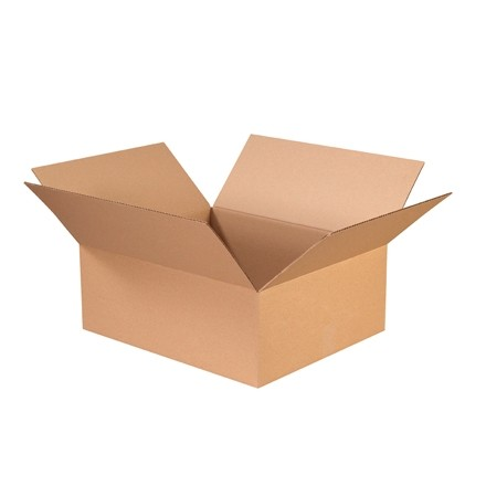"Corrugated Boxes, 22 x 18 x 8"", Kraft"