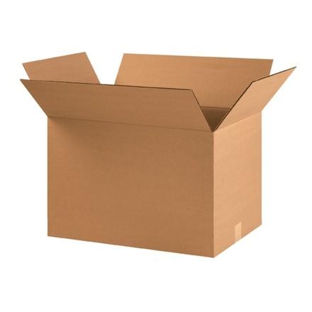 "Corrugated Boxes, 22 x 14 x 14"", Kraft"