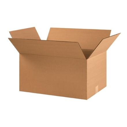 "Corrugated Boxes, 22 x 14 x 10"", Kraft"