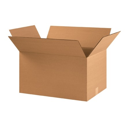 "Corrugated Boxes, 22 x 14 x 12"", Kraft"