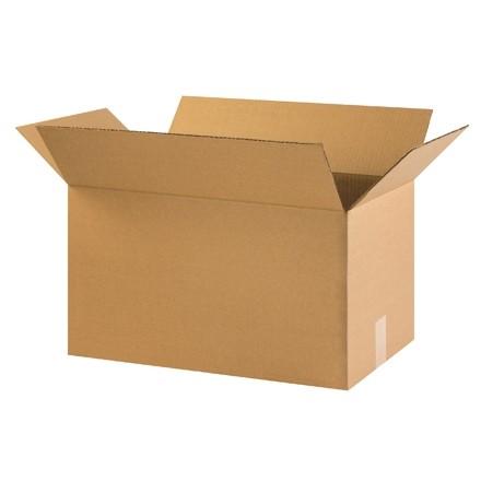 "Corrugated Boxes, 22 x 12 x 12"", Kraft"