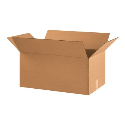 "Corrugated Boxes, 22 x 12 x 10"", Kraft"
